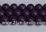 CMJ262 15.5 inches 8mm round Mashan jade beads wholesale