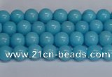 CMJ274 15.5 inches 4mm round Mashan jade beads wholesale