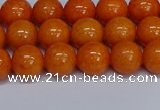 CMJ311 15.5 inches 8mm round Mashan jade beads wholesale