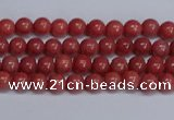 CMJ316 15.5 inches 4mm round Mashan jade beads wholesale