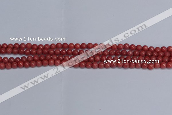 CMJ317 15.5 inches 6mm round Mashan jade beads wholesale