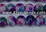 CMJ410 15.5 inches 10mm round rainbow jade beads wholesale