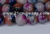 CMJ431 15.5 inches 10mm round rainbow jade beads wholesale