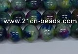 CMJ466 15.5 inches 10mm round rainbow jade beads wholesale