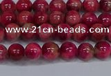 CMJ478 15.5 inches 6mm round rainbow jade beads wholesale