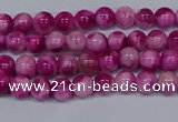 CMJ526 15.5 inches 4mm round rainbow jade beads wholesale
