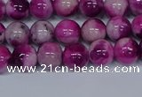 CMJ528 15.5 inches 8mm round rainbow jade beads wholesale