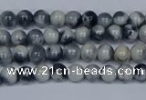 CMJ561 15.5 inches 4mm round rainbow jade beads wholesale