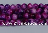 CMJ582 15.5 inches 4mm round rainbow jade beads wholesale