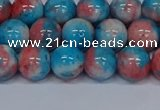 CMJ662 15.5 inches 10mm round rainbow jade beads wholesale