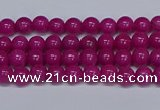 CMJ78 15.5 inches 4mm round Mashan jade beads wholesale