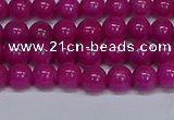 CMJ79 15.5 inches 6mm round Mashan jade beads wholesale