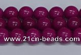 CMJ80 15.5 inches 8mm round Mashan jade beads wholesale