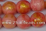 CMJ914 15.5 inches 12mm round Mashan jade beads wholesale