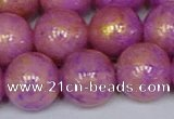 CMJ924 15.5 inches 12mm round Mashan jade beads wholesale