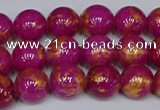CMJ926 15.5 inches 6mm round Mashan jade beads wholesale