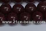 CMJ96 15.5 inches 12mm round Mashan jade beads wholesale