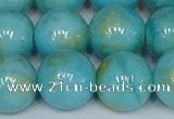 CMJ969 15.5 inches 12mm round Mashan jade beads wholesale