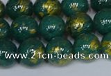 CMJ992 15.5 inches 8mm round Mashan jade beads wholesale