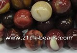 CMK81 15.5 inches 16mm round mookaite gemstone gemstone beads