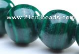 CMN04 6mm round A grade natural malachite beads Wholesale