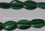 CMN267 15.5 inches 12*16mm flat drum natural malachite beads wholesale