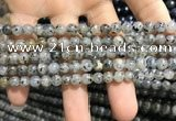 CMQ100 15.5 inches 4mm round moss quartz beads wholesale