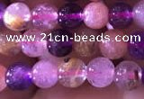 CMQ432 15.5 inches 6mm round mixed quartz beads wholesale