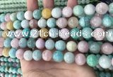 CMQ468 15.5 inches 10mm round mixed gemstone beads wholesale