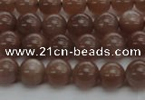 CMS1021 15.5 inches 6mm round AA grade moonstone gemstone beads