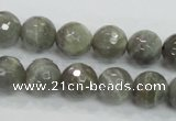 CMS125 15.5 inches 12mm faceted round moonstone gemstone beads