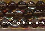 CMS1524 15.5 inches 12mm round synthetic moonstone beads wholesale