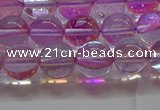 CMS1592 15.5 inches 8mm round synthetic moonstone beads wholesale