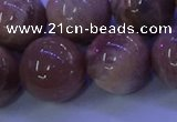 CMS508 15.5 inches 18mm round moonstone beads wholesale