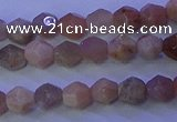 CMS580 15.5 inches 5*6mm faceted nuggets moonstone gemstone beads