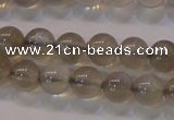 CMS851 15.5 inches 6mm round natural black moonstone beads