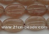 CMS962 15.5 inches 10*14mm oval A grade moonstone beads