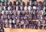 CNA1168 15.5 inches 8mm round dogtooth amethyst beads wholesale