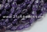 CNA30 15.5 inches 7*9mm oval grade A natural amethyst beads