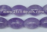 CNA414 15.5 inches 13*18mm rice natural lavender amethyst beads