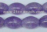 CNA415 15.5 inches 15*20mm rice natural lavender amethyst beads