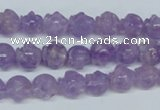 CNA432 15.5 inches 10*10mm skull shape natural lavender amethyst beads