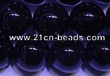 CNA553 15.5 inches 10mm round A grade natural dark amethyst beads