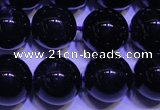 CNA571 15.5 inches 6mm round AAA grade natural dark amethyst beads
