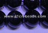 CNA573 15.5 inches 10mm round AAA grade natural dark amethyst beads