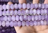 CNA782 15.5 inches 7*10mm rondelle lavender amethyst beads