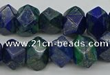 CNG1148 15.5 inches 10*14mm - 13*18mm faceted nuggets chrysocolla beads