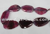 CNG1212 15.5 inches 30*45mm - 40*50mm freeform agate beads