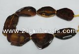 CNG1243 15.5 inches 30*50mm - 40*60mm freeform agate beads