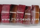CNG1474 15.5 inches 10*25mm - 14*25mm nuggets agate gemstone beads